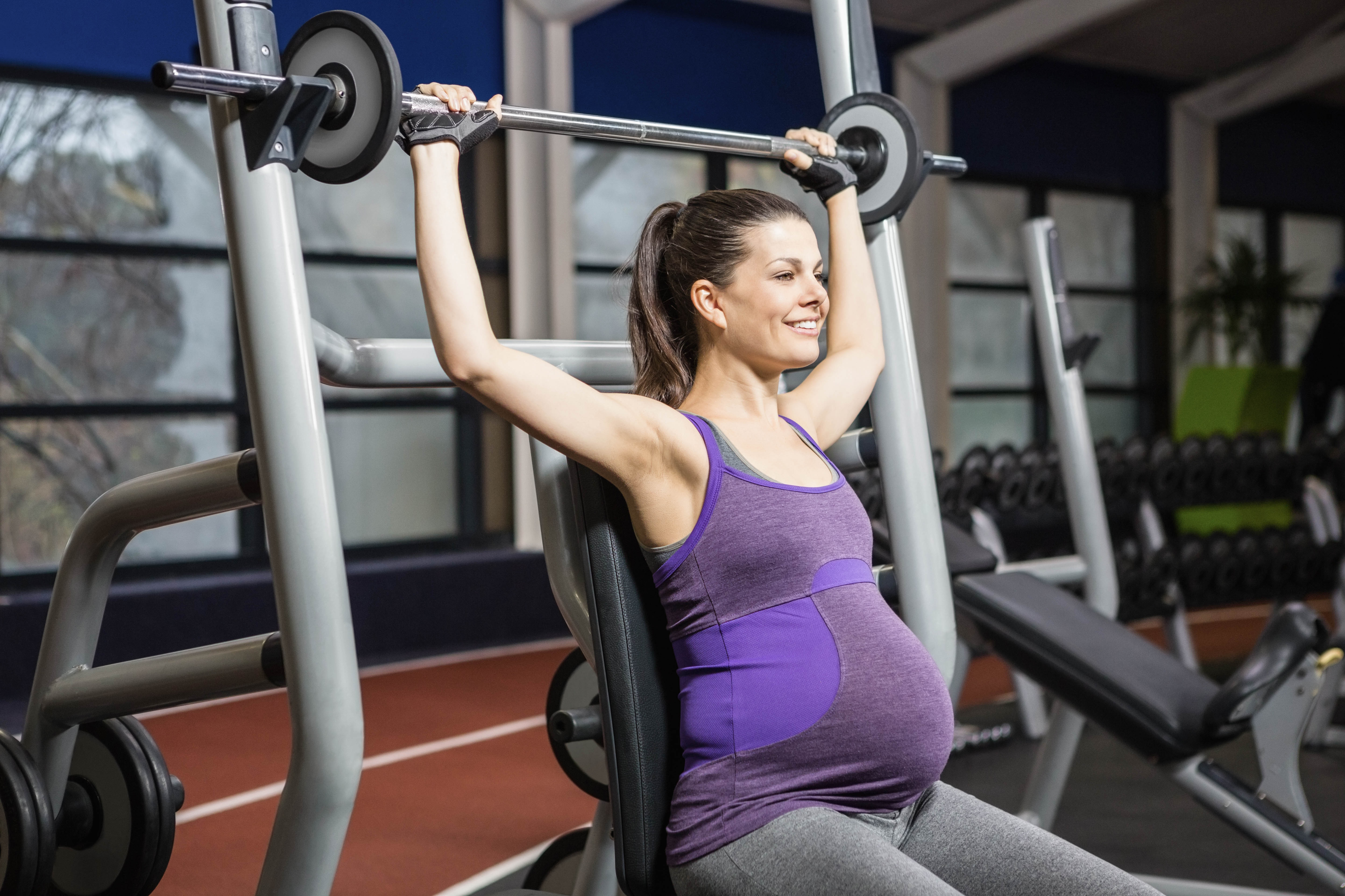 is weightlifting safe during pregnancy the pulse