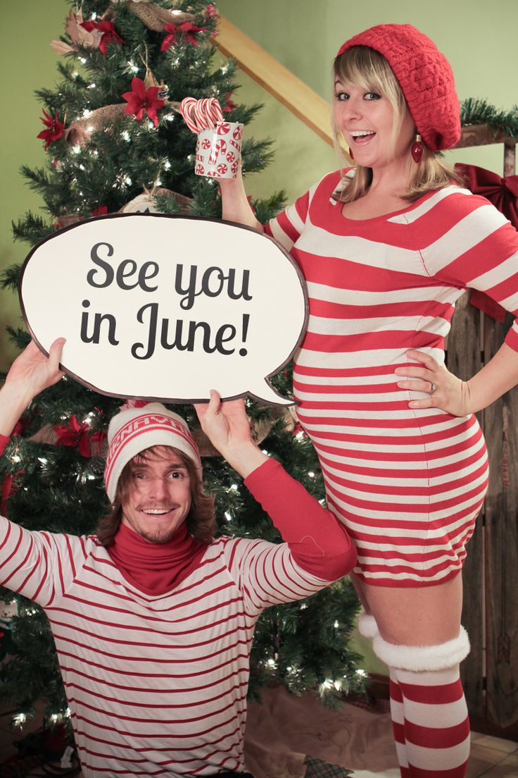 Christmas Pregnancy Announcement The Pulse