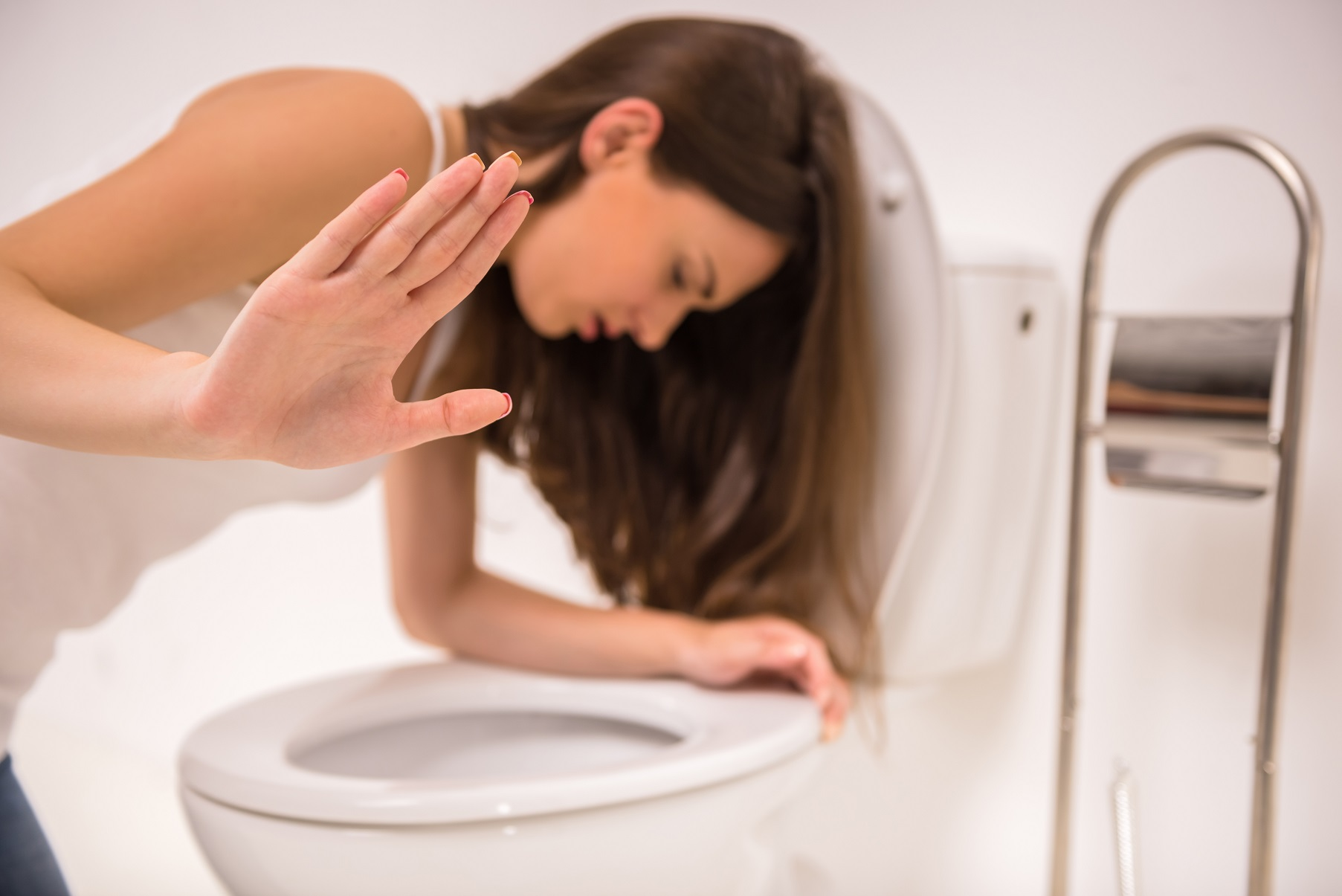 Woman in toilet | The Pulse