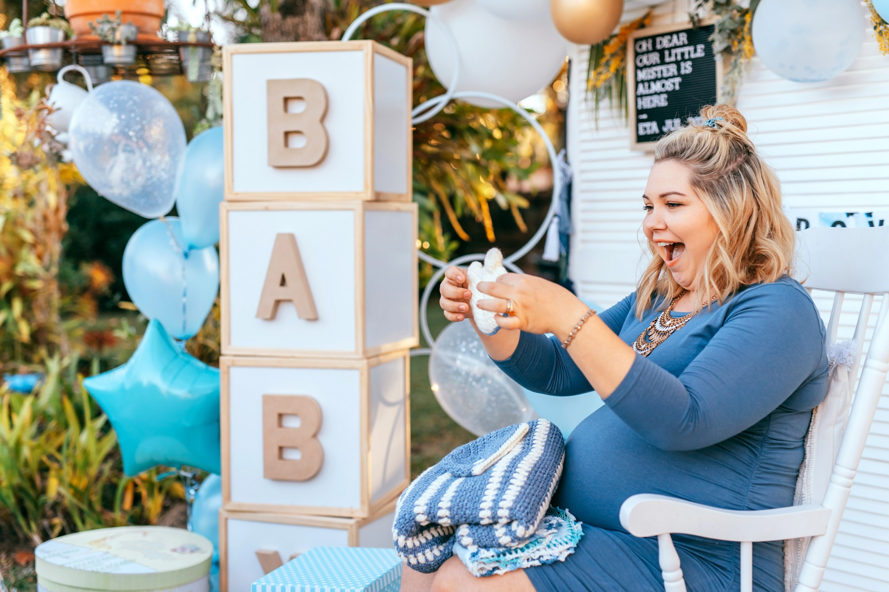 Preparing for an Out-of-State Baby Shower